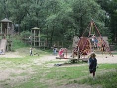Nijmegen Playground, with see-saw and climber, The Netherlands Playgrounds, Climbers, State Parks, Family Travel, Netherlands, Pond, Fields, France, River