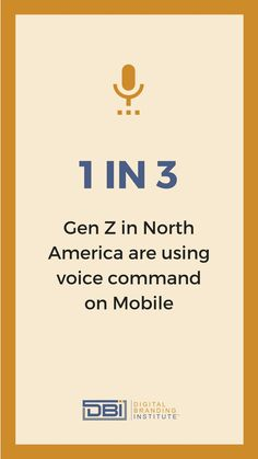 1 in 3 Gen. Z in North America are using voice command on Mobile. Email Marketing, Content Marketing, Social Media Marketing, Business Goals, Business Tips, Search Optimization, Website Maintenance, Web Design Services, Search Engine Marketing