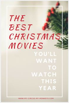 We've got a list of some of the best family friendly Christmas movies out there; light the fire, get out the hot chocolate and celebrate the season!