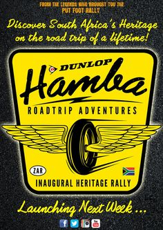 It's happening! The #DunlopHamba is hitting the road this year and we want you to come with us!!