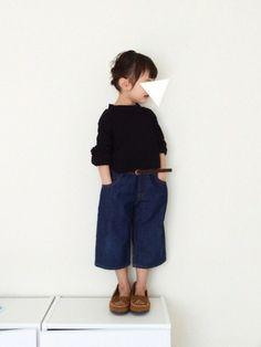 シオリ|ikkaのTシャツ・カットソーを使ったコーディネート - WEAR Toddler Boy Fashion, Little Girl Fashion, Fashion Design For Kids, Kids Fashion, Cool Kids Clothes, Young Fashion, Stylish Kids, Kid Styles, Kids Wear
