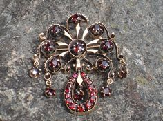 Hey, I found this really awesome Etsy listing at https://www.etsy.com/listing/71020557/antique-victorian-gold-bohemian-garnet