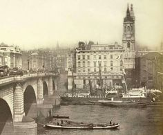 Victorian London, Vintage London, Old London, Victorian Era, London Pictures, London Photos, London Bridge, London City, Antique Photos