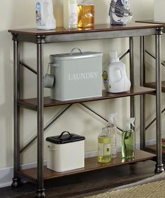 Another great find on #zulily! Three-Tier Shelving Unit #zulilyfinds