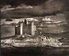 #photographer : José Ortiz Echagüe - Castillo de Embid, Guadalajara (1950)