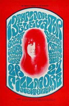 Last poster before she joined Jefferson Airplane.