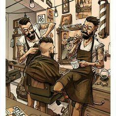 Barber $hop