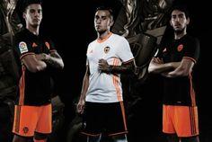 Valencia CF 2016/17 adidas Home and Away Kits