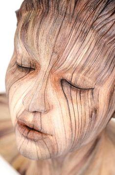 Christopher David White, il transforme la céramique en bois