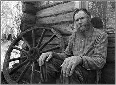 a village man. photo by Vladimir Rolov.