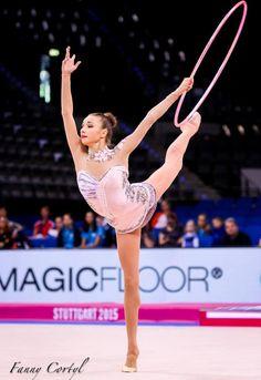 Victoria Mazur (Ukraine), World Championships (Stuttgart) 2015