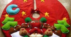 Christmas Tree, Christmas Ornaments, Tree Skirts, Holiday Decor, Home Decor, Google, Art Crafts, Ideas, Christmas Tree Skirts