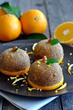 Portakalli irmik tatlisi