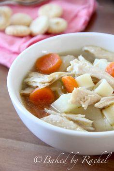 Leftover Turkey and Potato Soup Recipe