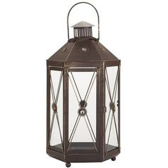 Rustic Jeweled Lanterns- need these! Maybe going on a shopping trip this weekend. Clearance, too!