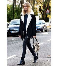 Marie Hindkaer Wolthers of Blame It On Fashion // I need this shearling jacket