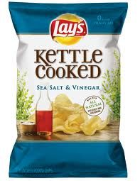 Salt and Vinegar Lay Chips