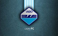 Download wallpapers Lazio FC, 4k, Italian football club, Serie A, emblem, Lazio new logo, leather texture, Rome, Italy, Italian Football Championships