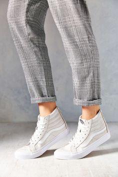 Vans Sk8-Hi Crackle Suede Womens Sneaker - Urban Outfitters