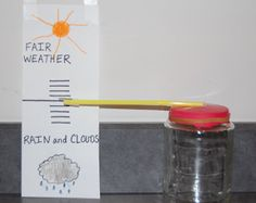 Song of My Heart: Making a Backyard Weather Station - with directions for a homemade barometer and other useful tools