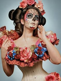 Fotos de mujeres pintadas de calaveras mexicanas - Taringa!
