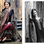 LSM Fabrics Gorgeous Wintery Stylish Dresses 2014