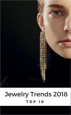 TOP 10 Jewelry Trends childish reckless, new pearl way and Disco! Stylish Jewelry, Fashion Jewelry, Women Jewelry, Jewelry Trends 2018, Jewellery Making Courses, Expensive Jewelry, Jewelry Patterns, Jewelry Ideas, Disco Fashion