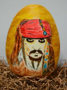 Jack Sparrow chocolate easter egg