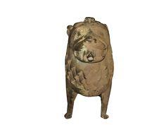 Ancient Rus #Aquaemanalis  lion bronze 12-14 century original 2 kg of weight 200 grams Length 24 cm 21 Height