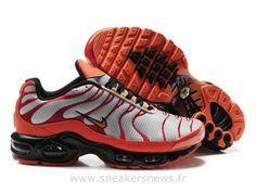 best service 4fd33 6846c Chaussures de Nike Air Max Tn Requin Homme Argent et Jaune Nike Tn Officiel