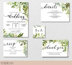 You desire a wedding event invite to match the overall theme and state of mind of the wedding. Is your wedding event formal or casual? A formal wedding might require traditional script font styles, official phrasing, and the traditional double envelope. Beach Wedding Invitations, Printable Wedding Invitations, Wedding Invitation Templates, Invitation Suite, Menu Templates, Wedding Stationery, Invites, Thank You Card Size, Rustic Wedding