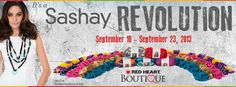 Each day from September 10 - 23, 2013 find a new Boutique Sashay free pattern to inspire!