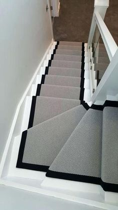 Modern Stair Runner New Runners Best Carpet Ideas On Inside 13 Within Prepare 11 Stairs Design Modern carpet Ideas Modern Prepare runner Runners Stair Carpet Staircase, Staircase Runner, Stair Runners, Carpet Runner On Stairs, Hall Carpet, Carpet Treads For Stairs, Hallway Runner, Painted Staircases, Painted Stairs