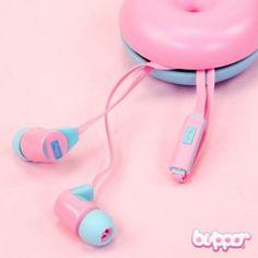 Sibyl Donut Earphones - Earphones & Audio - Mobile Accessories | Blippo.com - Japan & Kawaii Shop