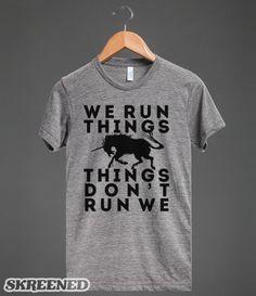 we run things, things don't run we
