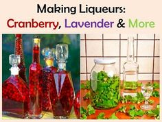 Making Liqueurs, Cranberry, Lavender & More (Adult)