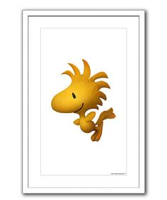 This Peanuts Woodstock Framed Giclée Print is perfect! #zulilyfinds