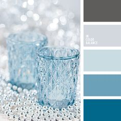 ~ ♥The color palette Represented saturated azure, restrained steel, pale shades of blue and cornflower by In Color Balance Colour Pallette, Colour Schemes, Color Combos, Color Patterns, Color Charts, Color Azul, Design Seeds, Color Concept, Niklas