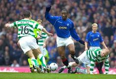 Big Marvin Andrews shows his skills in old firm game. Old Firm, Rangers Fc, Glasgow, My Photos, Football, Sports, Men, Board, Hs Sports