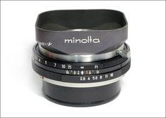 minoltakid :: minolta AUTO ROKKOR-TD 45mm 2.8 Film Camera, Camera Lens, Classic Camera, Vintage Cameras, Smart Watch, Lenses, Fotografia, Smartwatch, Movie Camera