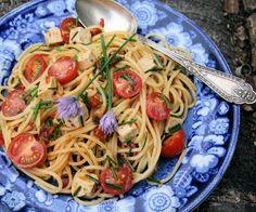 Mediterranean Spaghetti Salad