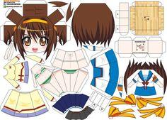Haruhi Suzumiya (Joey's Chibi Girls 020) by ELJOEYDESIGNS on DeviantArt