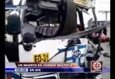 Chofer de El Chosicano murió tras quíntuple choque en Ate
