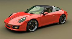 Porsche 911 Targa v retro kabátu od Zolland Design: - fotka 2