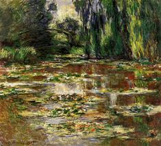 The Japanese Bridge (The Bridge over the Water-Lily Pond) - Claude Monet - WikiPaintings.org