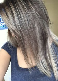 Blonde highlights for gray hair heres a good idea to camouflage ash brownblonde my favorite hair color and i achieved it pmusecretfo Images