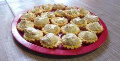 Diós kosárka - Lakodalmas sütemények