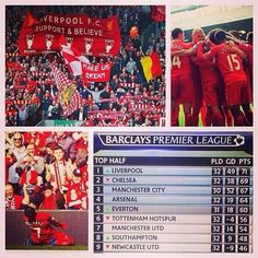 A great weekend for #LFC (30/03/2014) #Believe #MakeUsDream