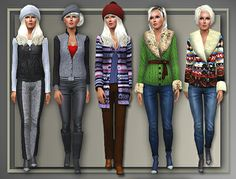 5 Outerwear Coats by Judie at All About Style – Social Sims