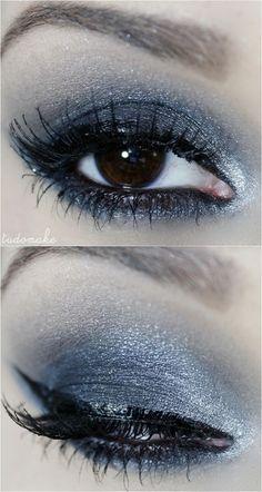 Passo a passo tutorial de maquiagem chumbo e preta - tudo make 03